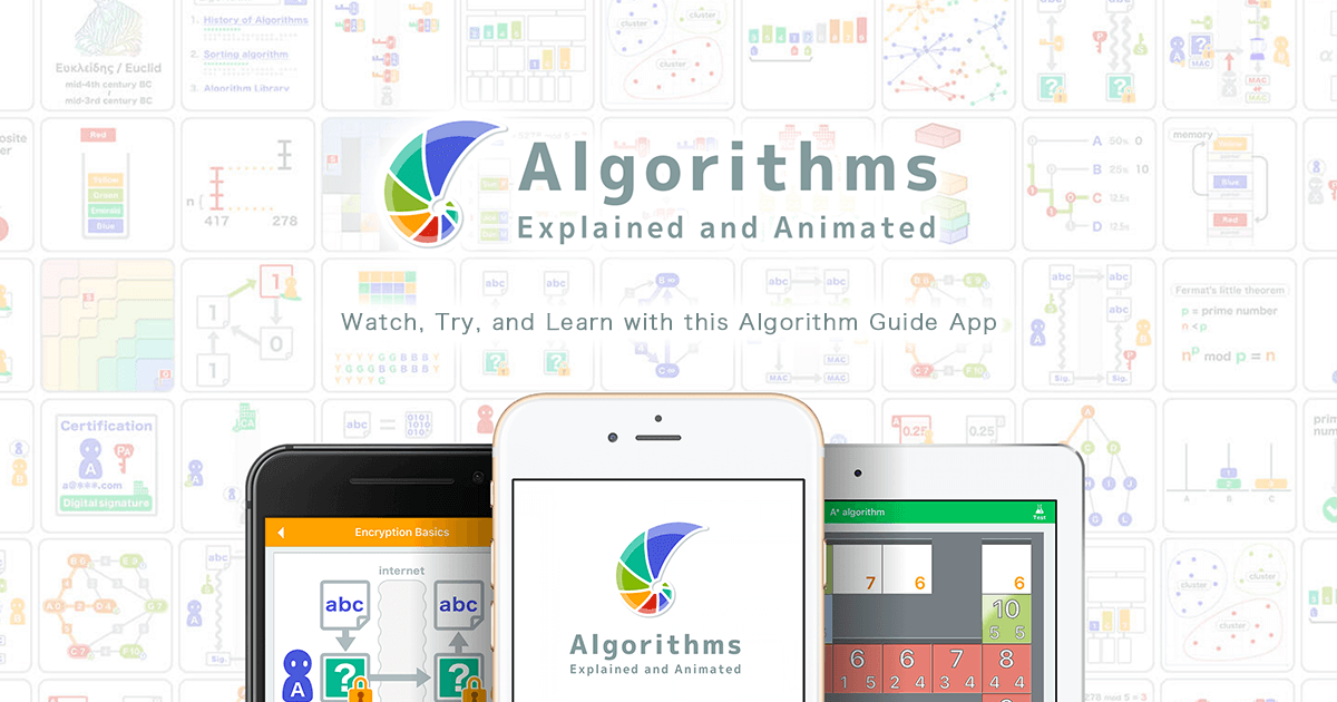 Algorithms: Explained and Animated - iOS/Android app